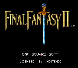 Final Fantasy II (USA)