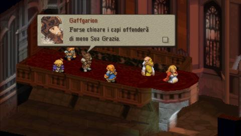Gaffgarion Final Fantasy Tactics italiano